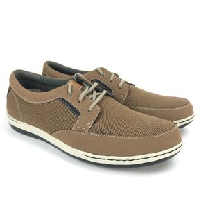 Dunham Men's Fitswift Tan Lace Up Casual Sneakers